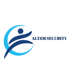 Logo bedrijf altem security