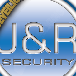Logo bedrijf J&R Security-Service